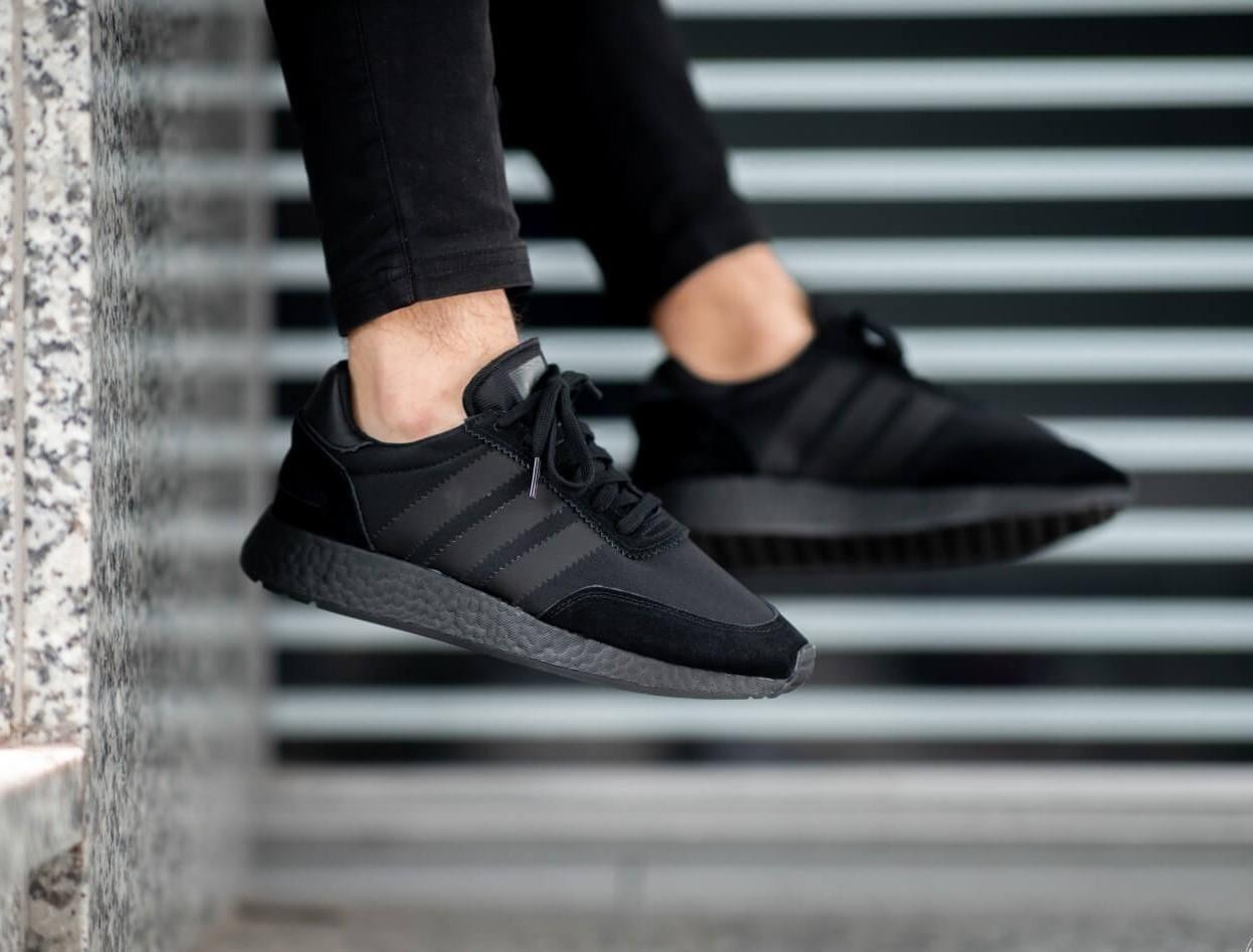 adidas triple black shoes