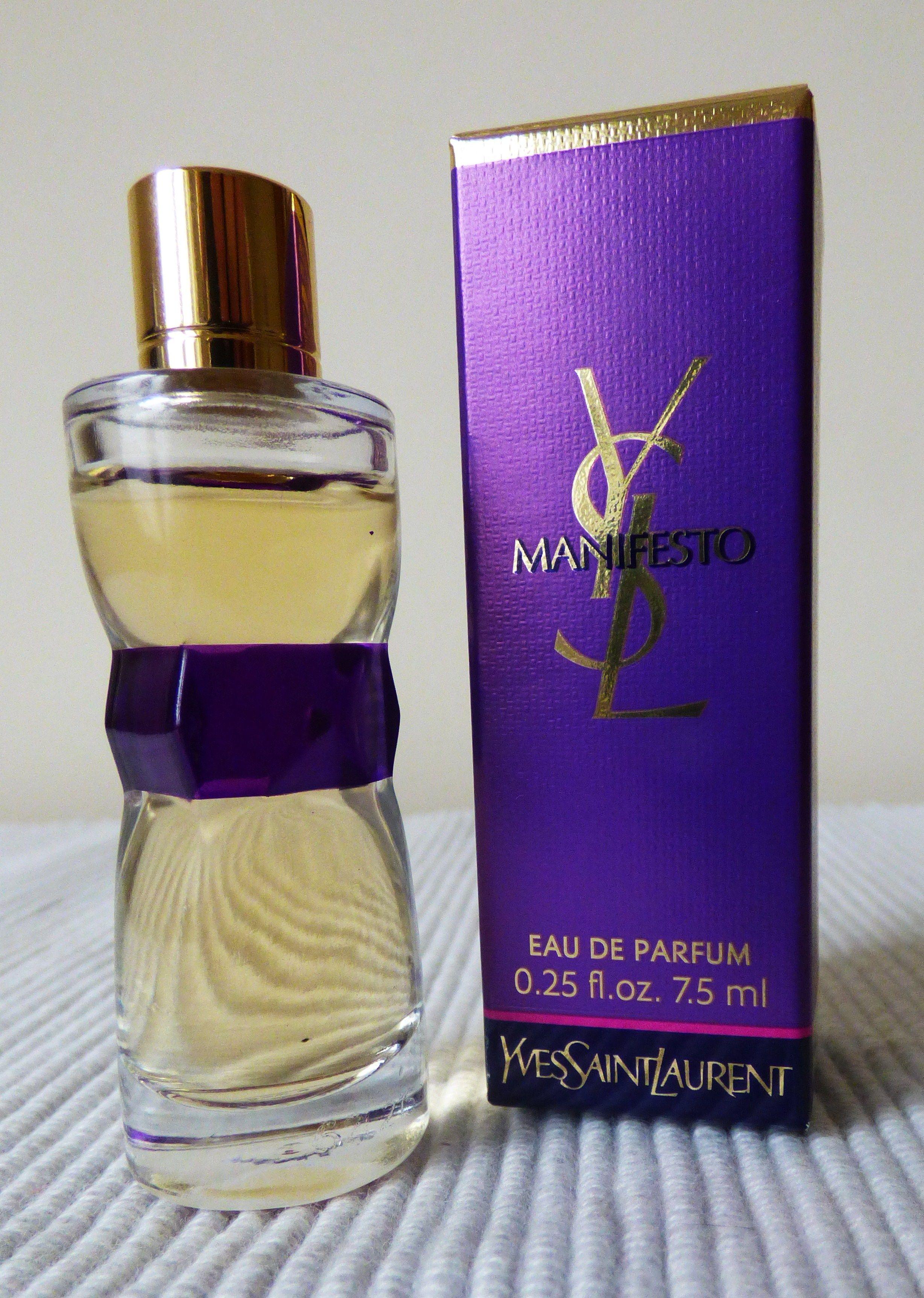 Boîte 5 Avec Manifesto LaurentEau De Yves Ml St Parfum 7 3ARc54SjLq