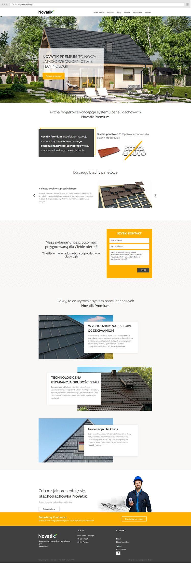 Novatik Premium Pixelsperfect Pl Tworzenie Stron Internetowych Konin Poznan Wrzesnia Web Design Design Konin