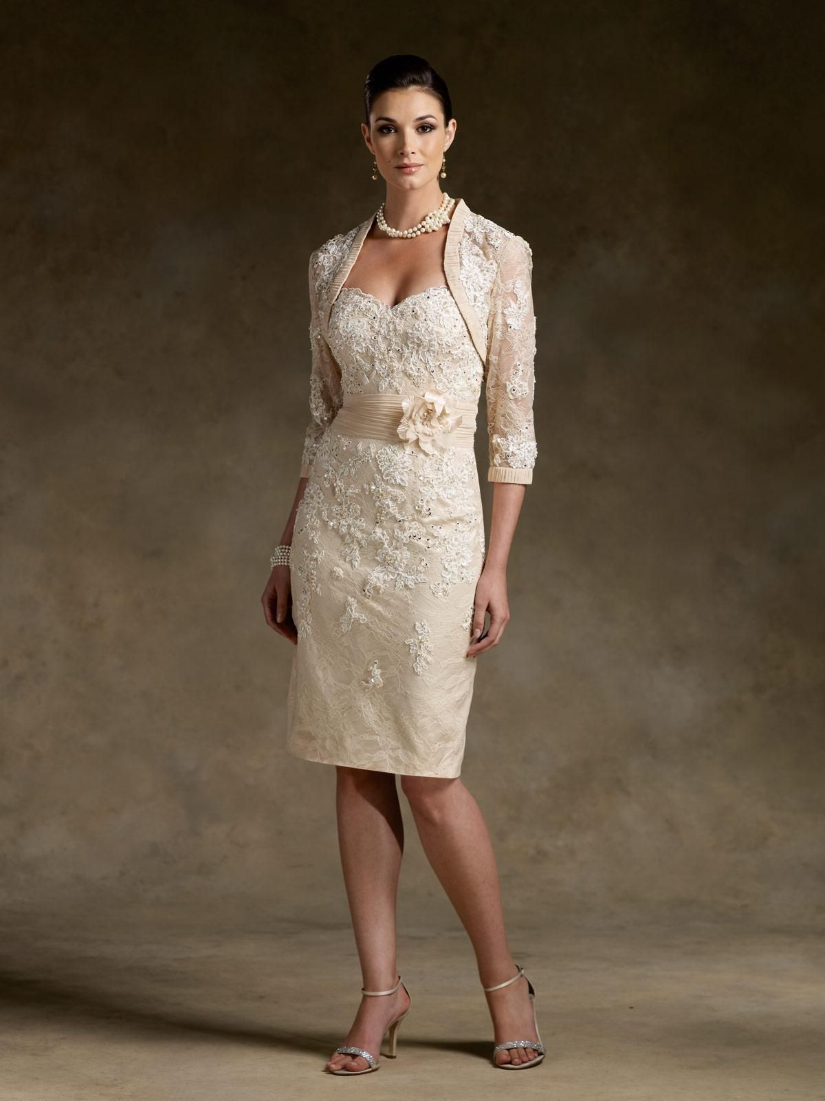 elegant mother of the bride dress | MOG | Pinterest