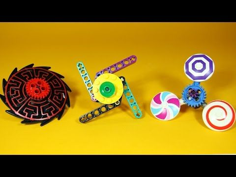 How to Build LEGO Fid Spinner