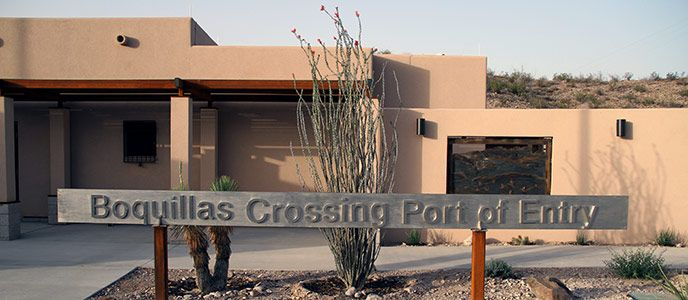 You Can Enter Mexico Through The Boquillas Border Crossing Point