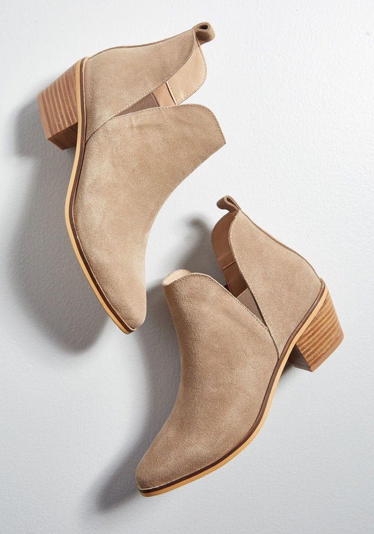 Touch of Luxe Suede Bootie #booties