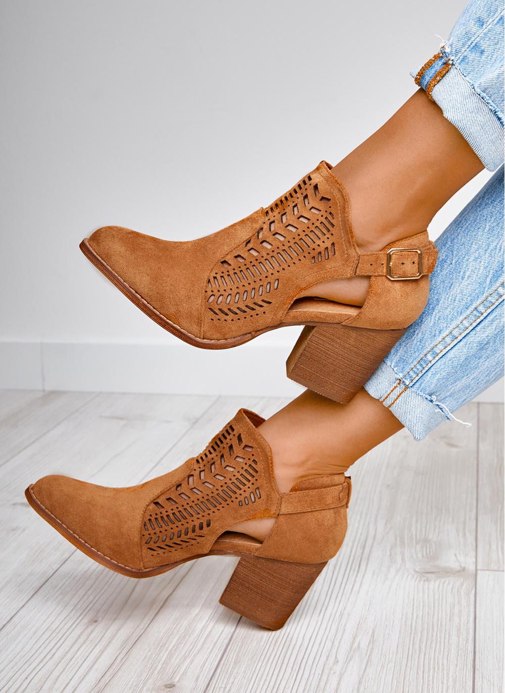 Brazowe Botki Aztecs W Sklepie Deezee Pl Boots Ankle Boot Shoes