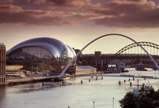 The Sage Gateshead, Newcastle upon Tyne