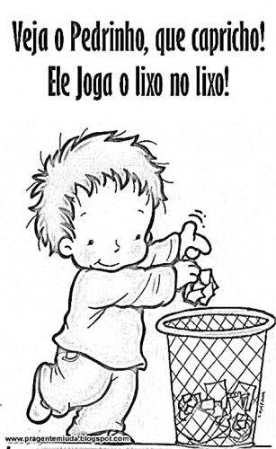 Resultado De Imagem Para Frases Com Imagenspara O Problema Do Lixo