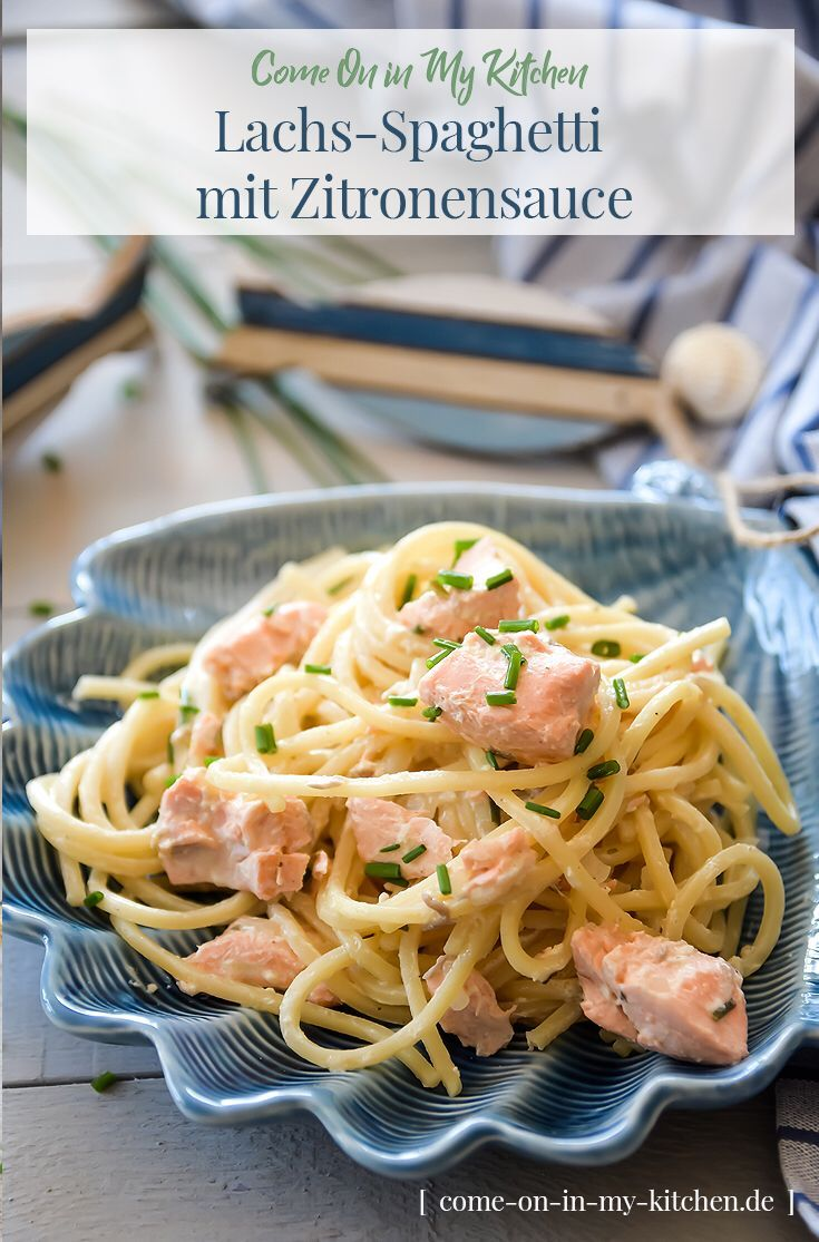 Photo of Salmon spaghetti with lemon sauce – Home and Herbs