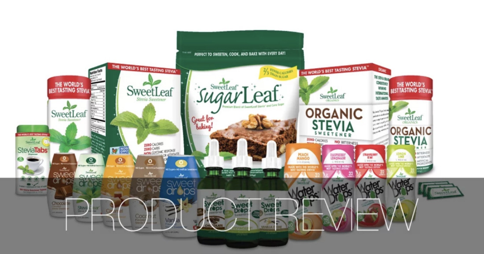 ARTIFICIAL SWEETENER? HECK NO! THE POWER OF STEVIA POWDER IS A GREAT SUBSTITUTE TO SUGAR!
