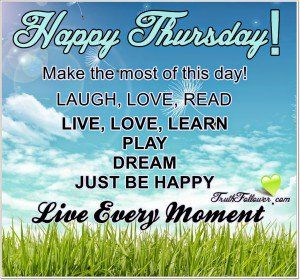 Thursday Work Quotes Happy thursday quotes   Facebook   Happy