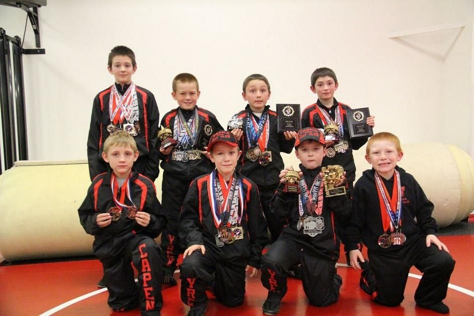 A group of local youth wrestlers have collected a fair