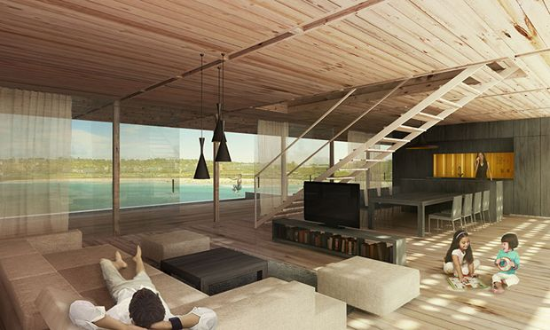 Shipping container vacation home wins Bondi Beach competition
