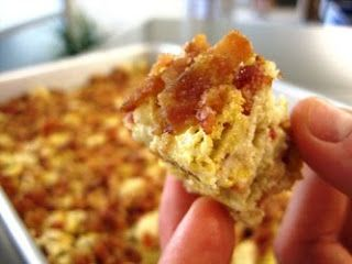 Brown Butter Cereal Bars with Candied Bacon