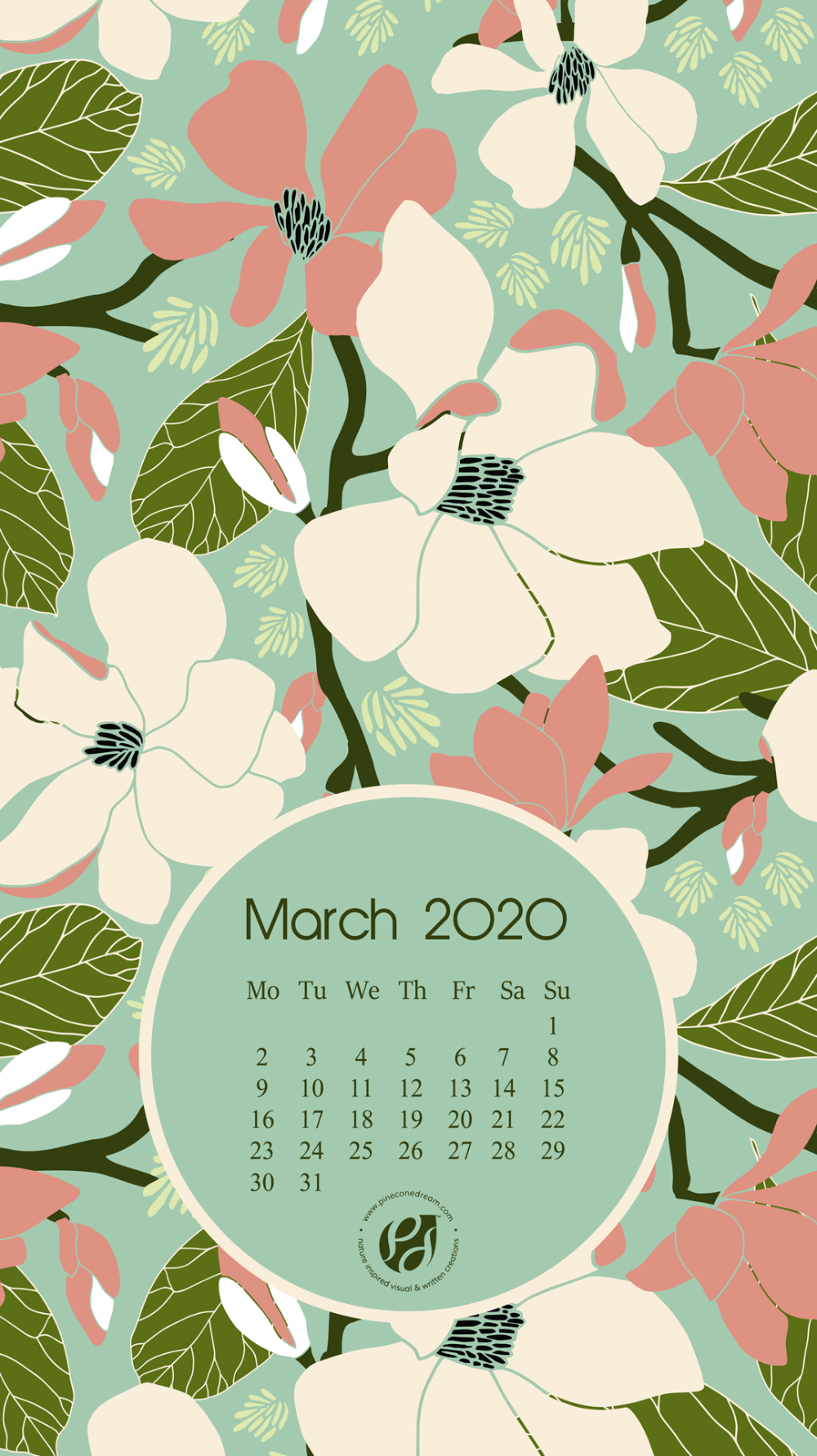 March 2020 Iphone Calendar Wallpaper March 2020 Iphone