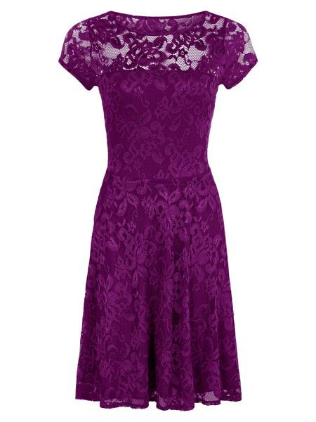 HotSquash Women's Lace Fit n Flare Dress Free Shipping Pick A Best Clearance Manchester Great Sale Discount Visit mgfFh2Mj