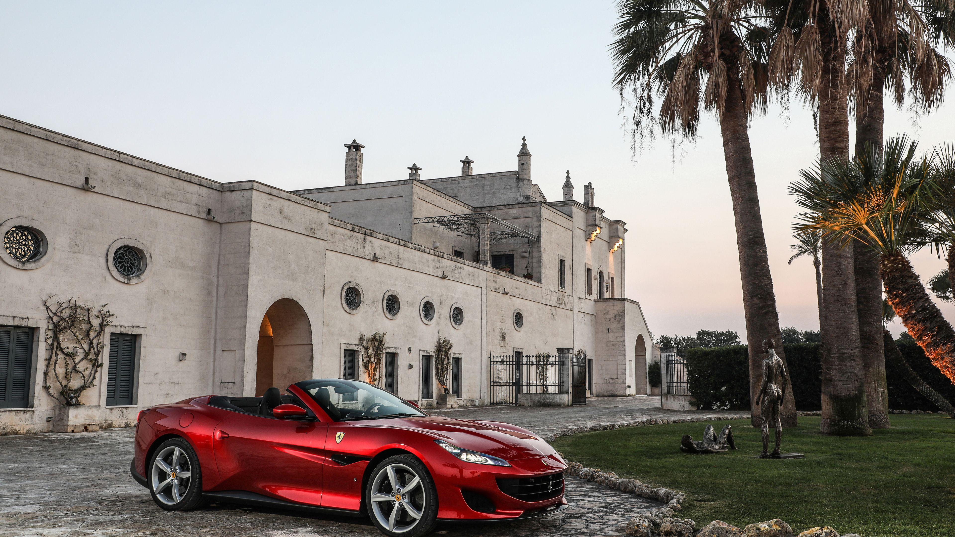 Ferrari Portofino 2018 4k Hd Wallpapers Ferrari Wallpapers Ferrari