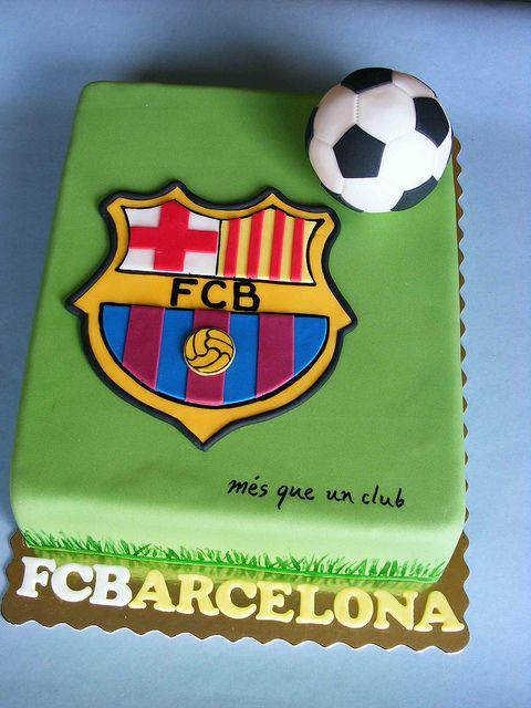 Barcelona Cake Barcelona Cake Soccer Cake Birthday Cake Kids