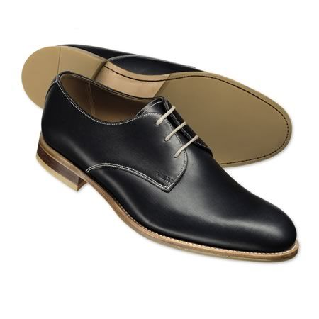 charles tyrwhitt navy casual derby shoes md028nav  shoes