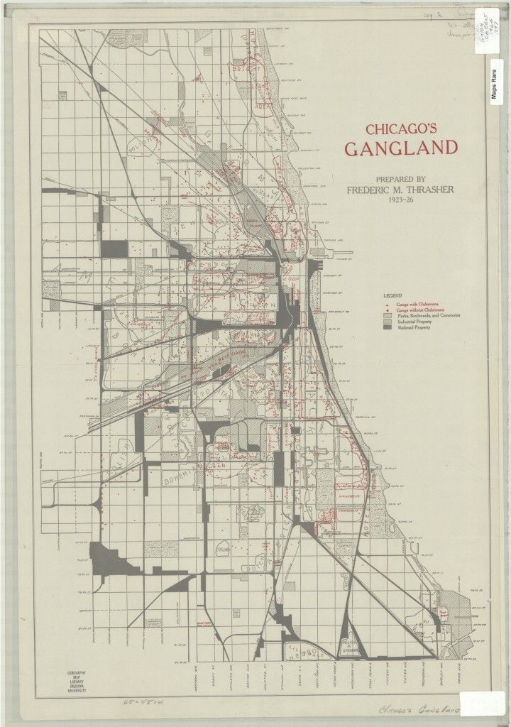 Street Gangs And Organized Crime Gang Map Of Chicago - Is there a color coded map of us crime