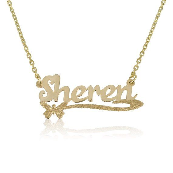 Customize Personalize Name Necklace Customize Your Name