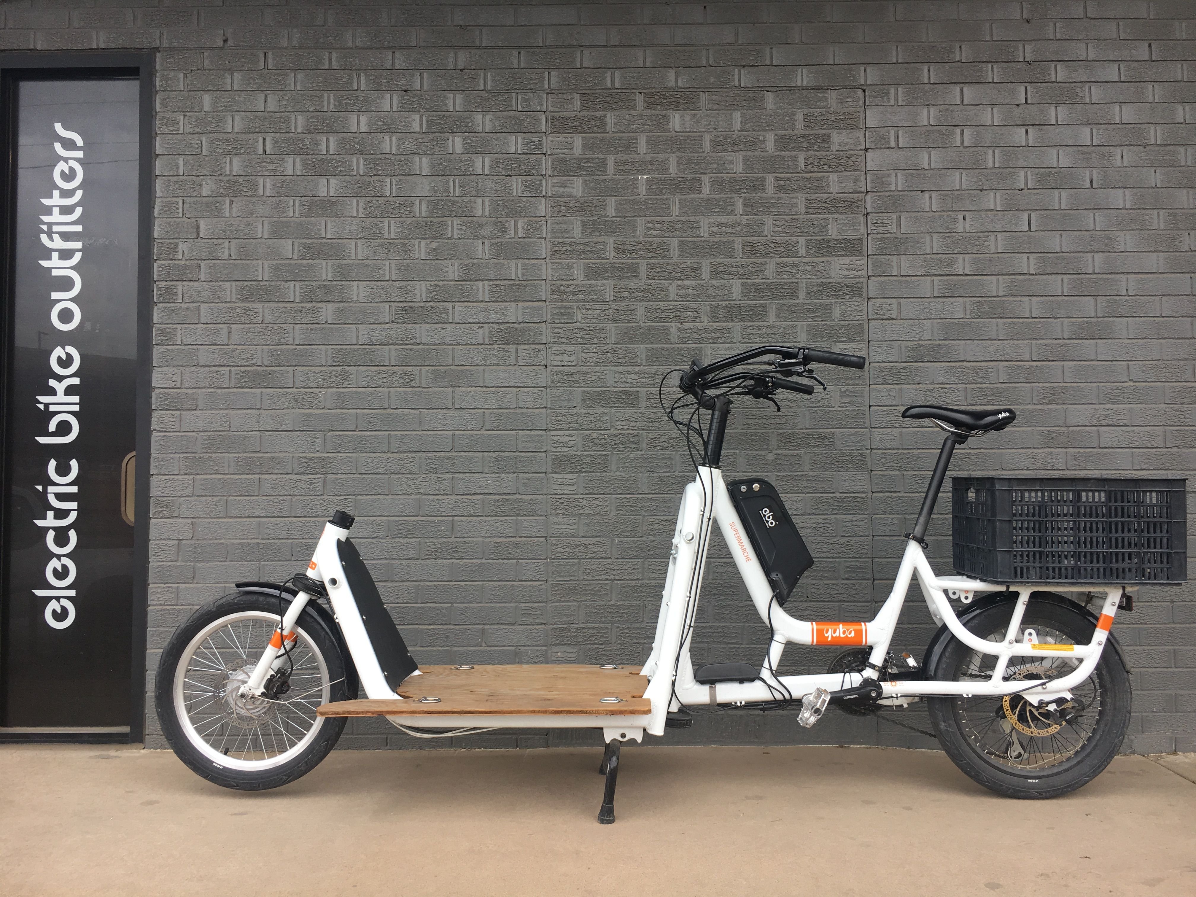 Ebo 48v Burly Electric Bike Conversion Kit Installed On A Yuba Supermarche Electric Bike Conversion Family Bike Electric Bike