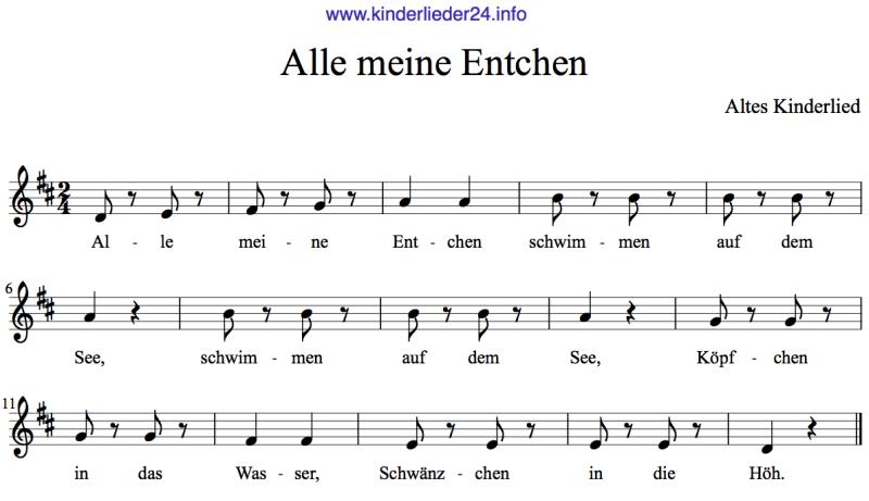 Kinderlieder Noten | Kinder lied, Kinderlieder, Lied