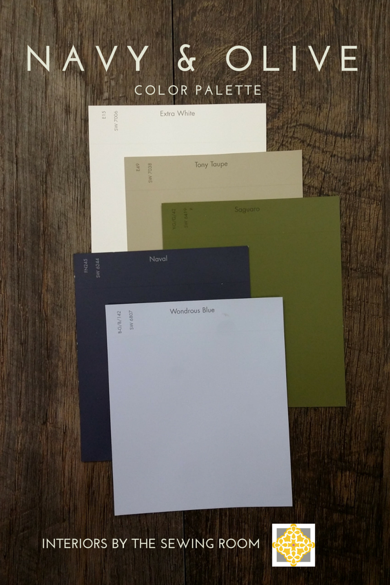 Olive And Navy Color Palette For A Capsule Wardrobe Slowfashion Capsulewardrobe Living Room Green Olive Green Bedrooms Olive Bedroom