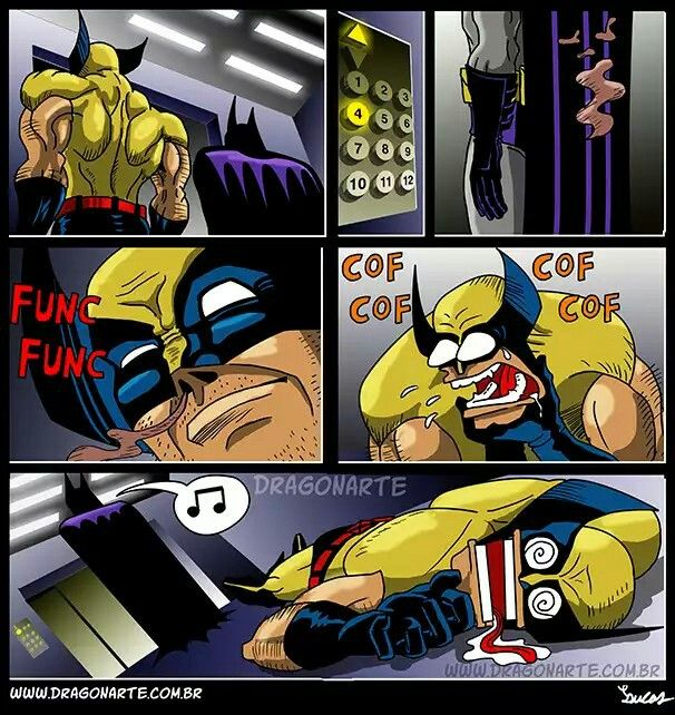 460ce9900efcccb4fb6cbd062006ce7d batman's mysterious smell causes wolverine to choke and die\