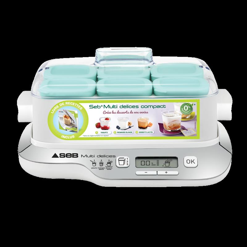 yaourtière multi délices - seb | casseroles, kits de cuisine et