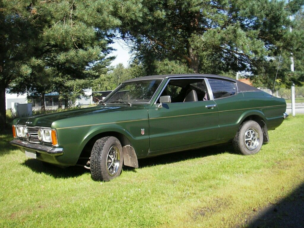 My First Car Ford Taunus Gt Coupe V6 1973 My Father By It When