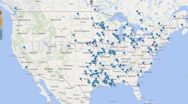 2014 Ducks Unlimited Migration Map | Maps | Pinterest | Ducks unlimited