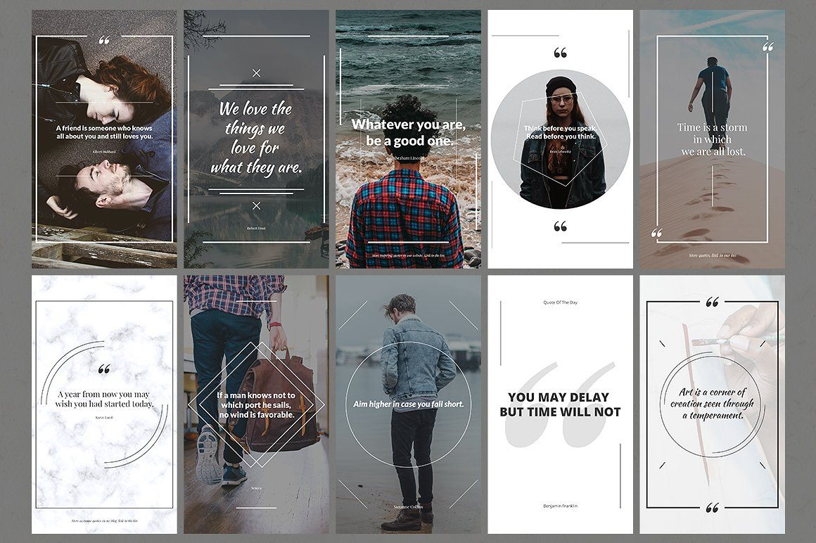 OFF 50 Instagram Stories Bundle by Web Donut on