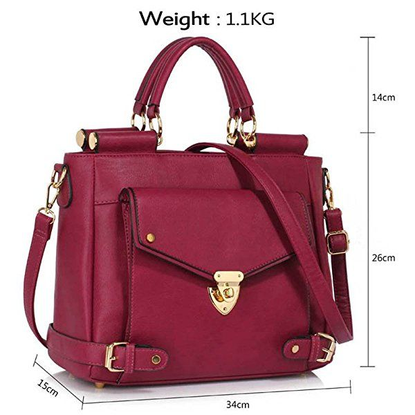 New Women Purse Shoulder Handbag Tote Messenger Hobo Satchel Cross Body Bag UK
