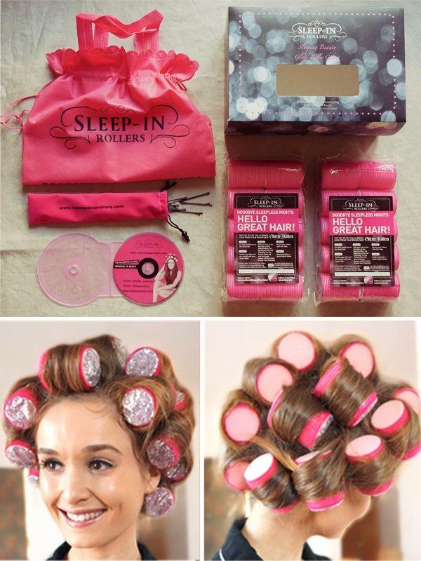 Volume Hair Care Routine Ft Sleep In Rollers