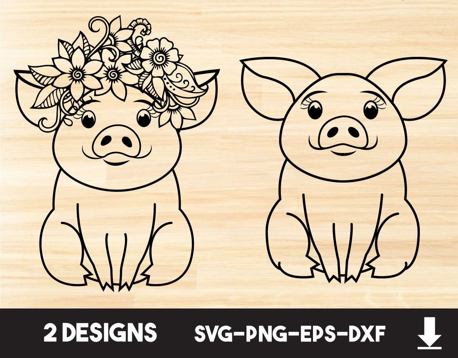 7551+ Free Pig Svg For Cricut SVG Design