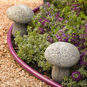 Mushroom Hose Guides Garden Supplies Stuffed Mushrooms Garden Whimsy