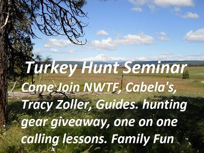 6th annual free spring turkey hunting seminar and youth jakes day saturday april 22nd 3