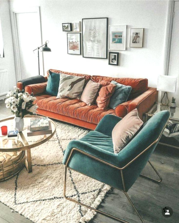 Renk Kombinasyonu Kiremit Yesil Kiremit Kombinasyonu Renk Yesil Warm Home Decor Living Room Sets Furniture Modern Living Room Furniture Sets