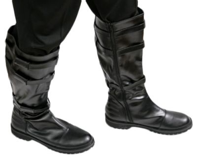 Black Boots Halloween Costume