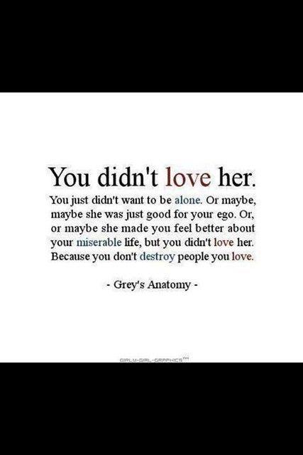#Hurt #Quotes #Love #Relationship You NEVER loved her!! Facebook: http://ift.tt/13GS5M6 Google+ http://ift.tt/12dVGvP Twitter: http://ift.tt/13GS5Ma #Depressed #Life #Sad #Pain #TeenProblems #Past #MoveOn #SadQuote #broken #alone #trust #depressing #break