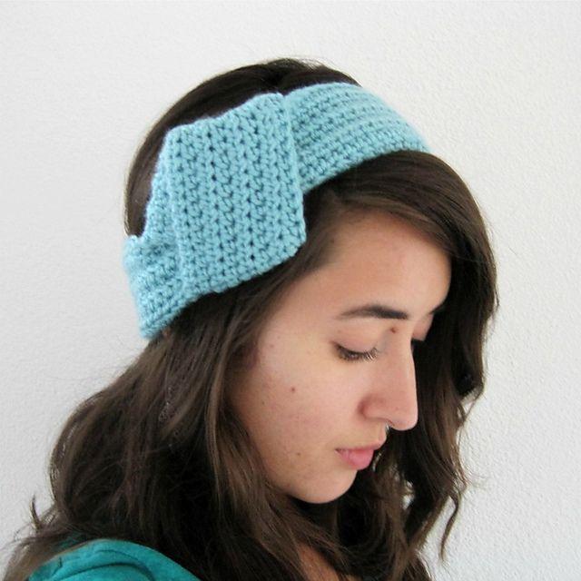 Crochet Patterns Galore The Big Knot Headband Free Headband