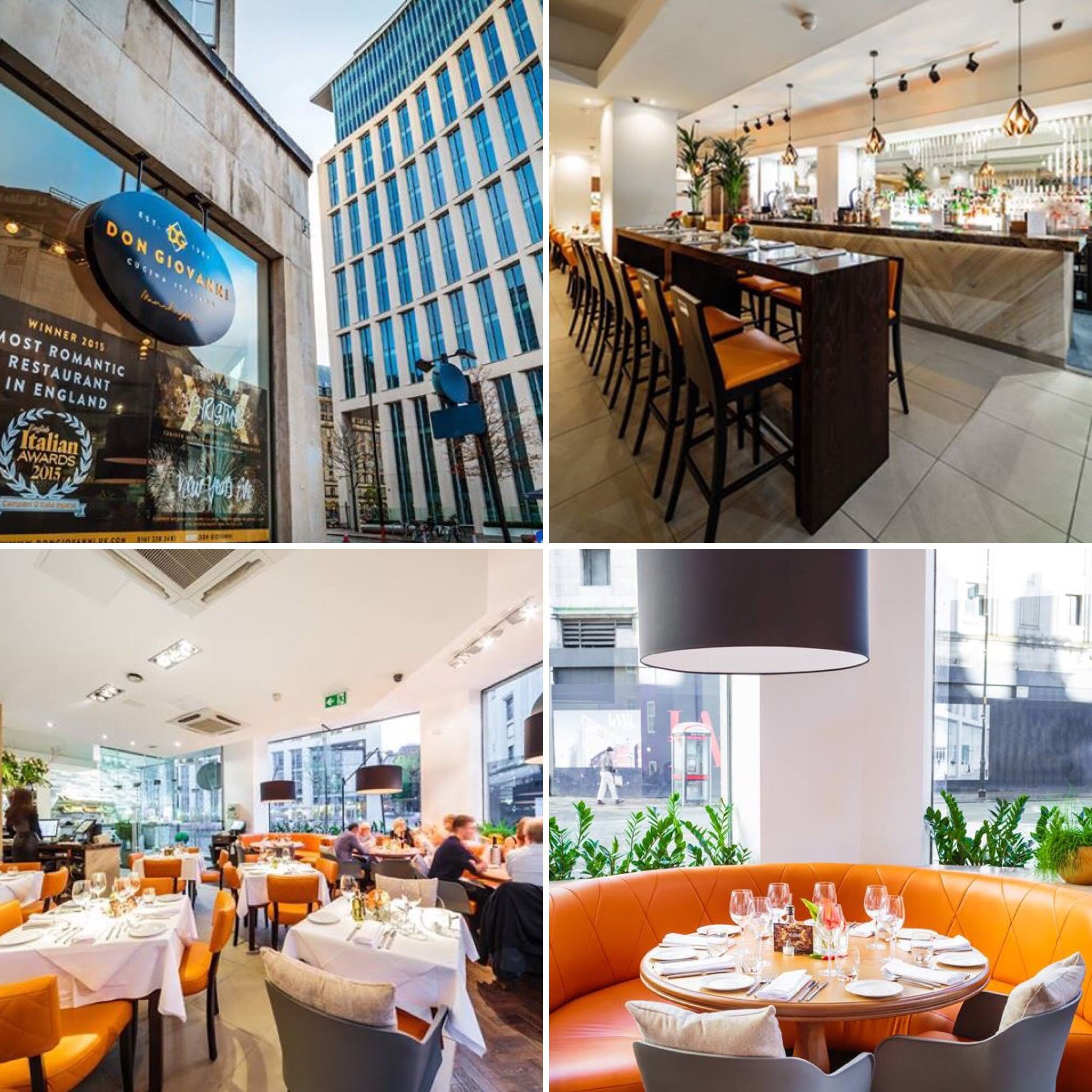 Archies, Liverpool. Restaurant Design | DV8 Designs - Completed ...
