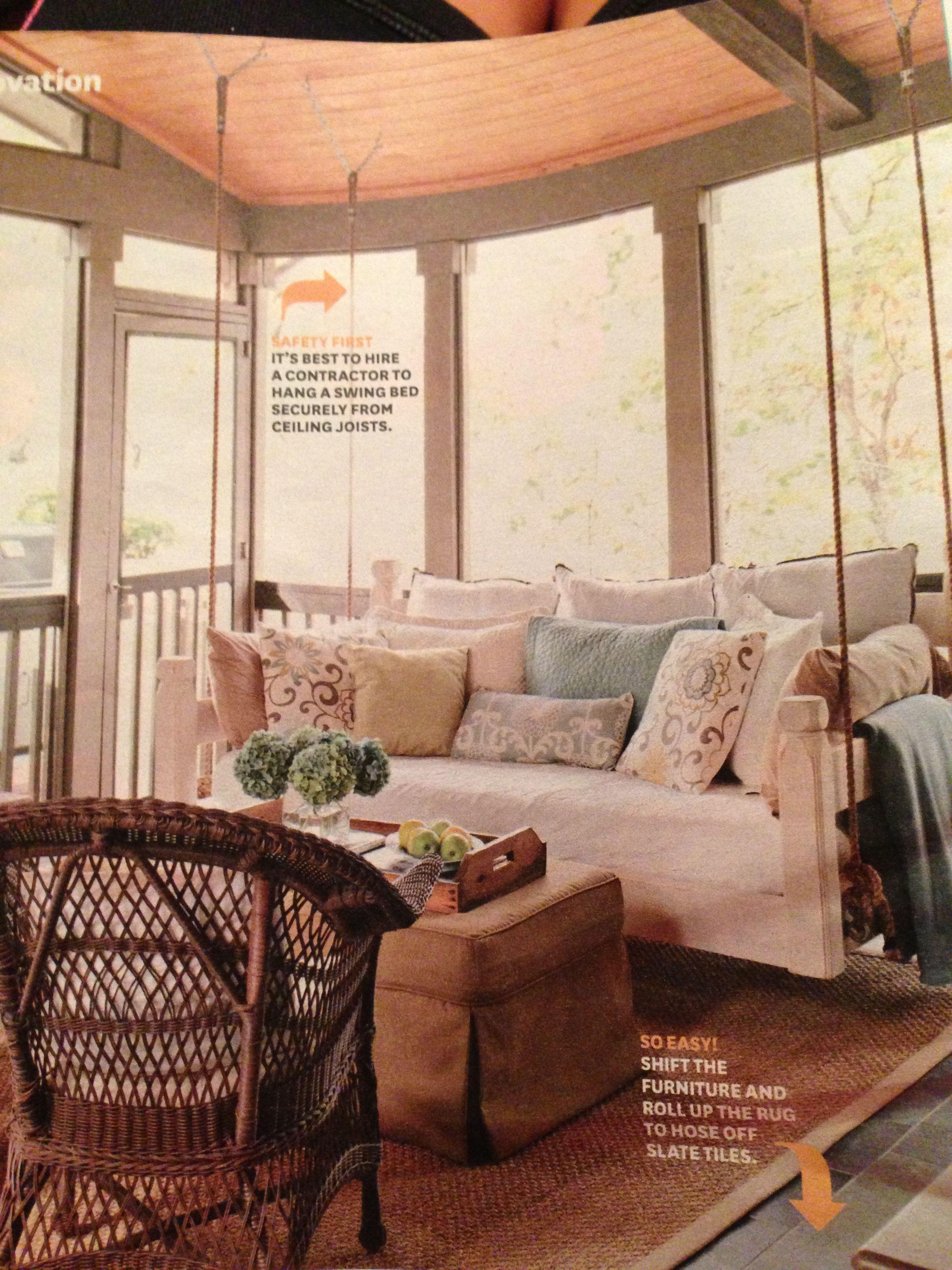 Lovely Living Room Swing Furniture