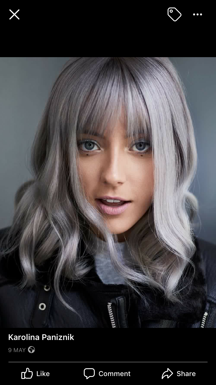 Pin by Meri Hatcher on Hair style Icy blonde hair