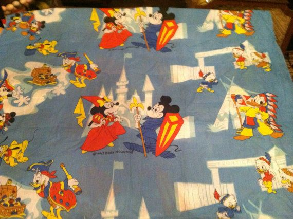 Mouse bedding mickey vintage