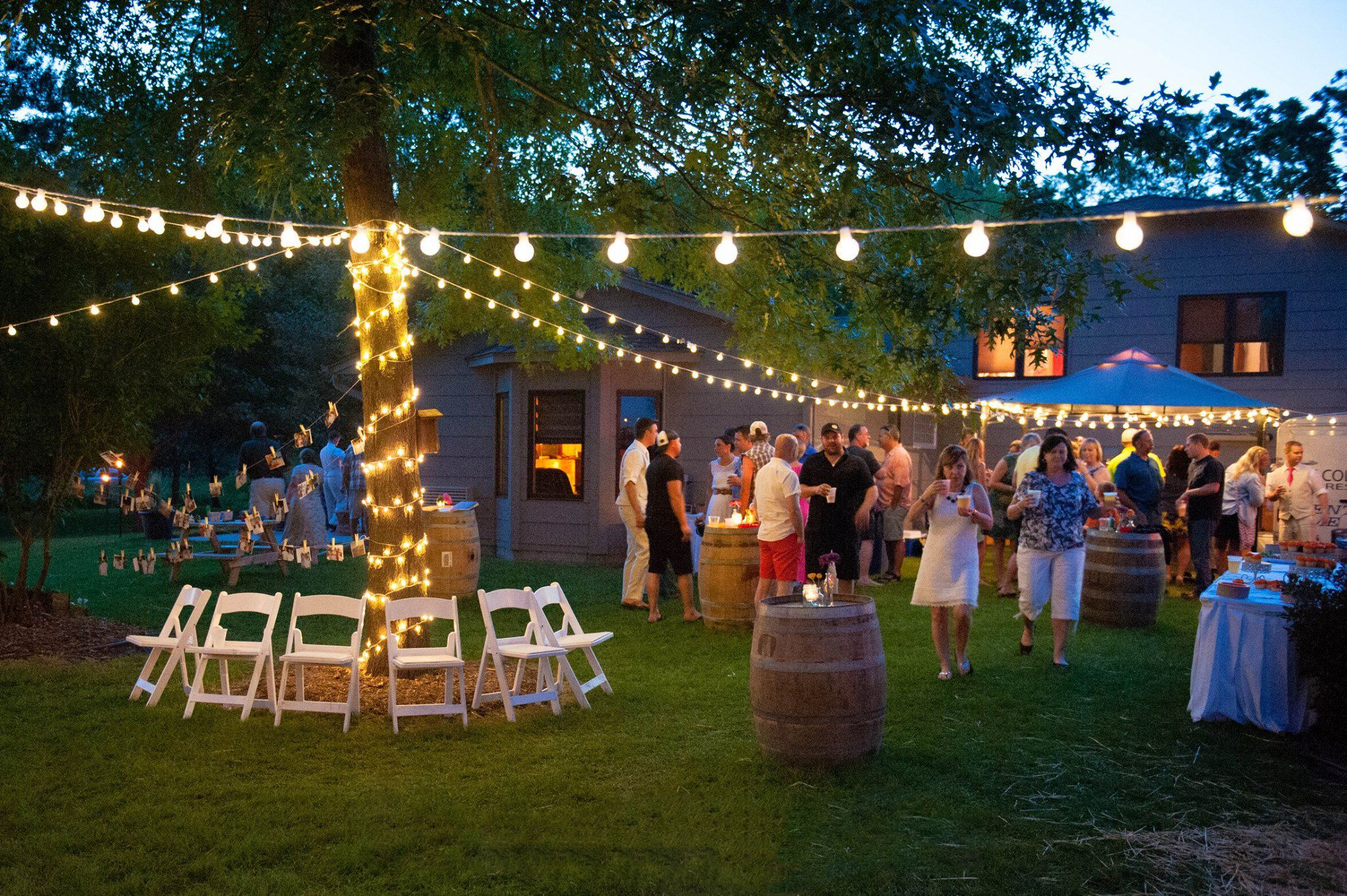 backyard wedding reception inver grove heights mn wedding