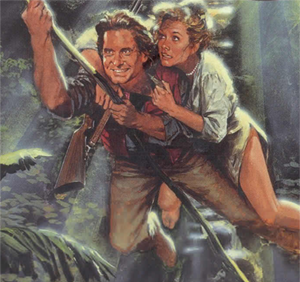 Romancing The Stone One Of The Best Movies Ever Romancing The Stone Adventure Movie Adventure Movies
