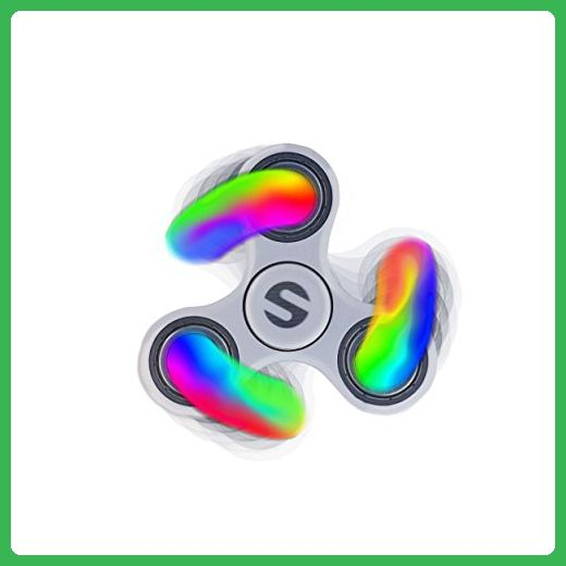 LED Sapien Trifecta Fid Spinner Toy COOL Mixed Color LEDs 2