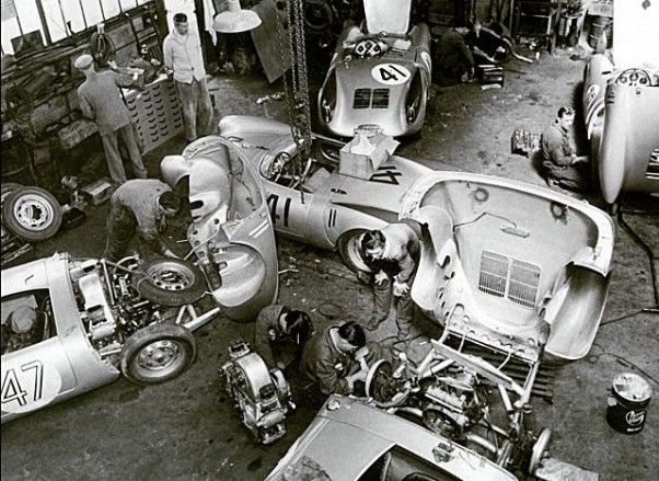 Spyder prep at the teloch garages near lemans circuit how much in today 39 s value kb vroom - Garage volkswagen le mans ...