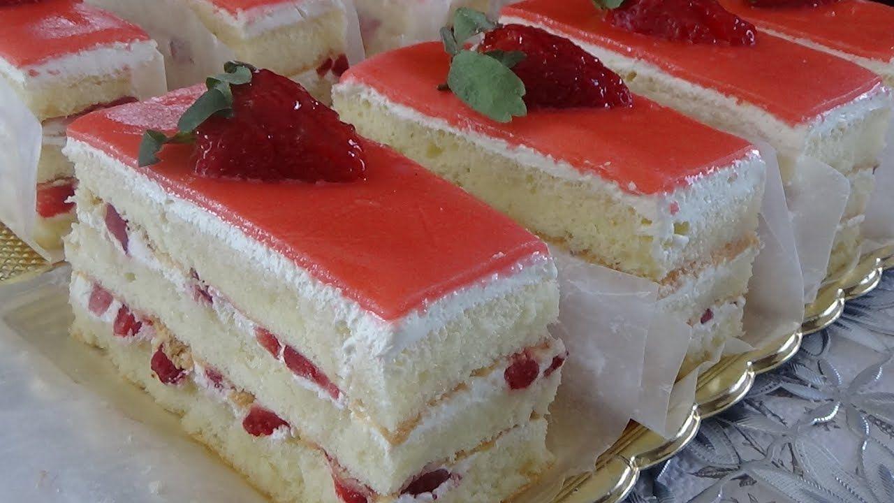 الفريزيي أو كيك الفراولة تحلية بالفراولة مع كل الأسرار الاحترافية Youtube Cooking Recipes Food Cake