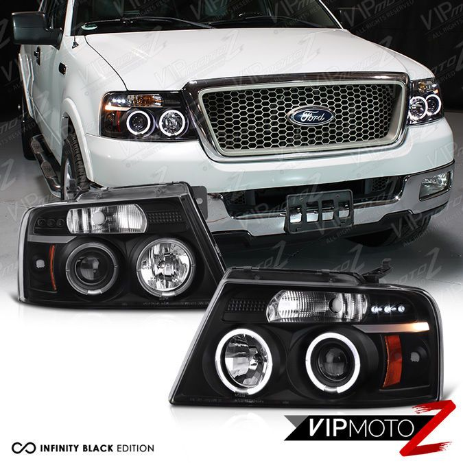 Details about 0408 Ford F150 F150 LOBO Black [HALO LED